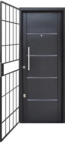Puertas de metal puertas y ventanas artesanales hierro for Como hacer una puerta de metal
